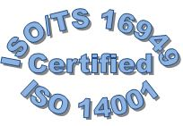 ISO/TS 16949 & 14001 Certified